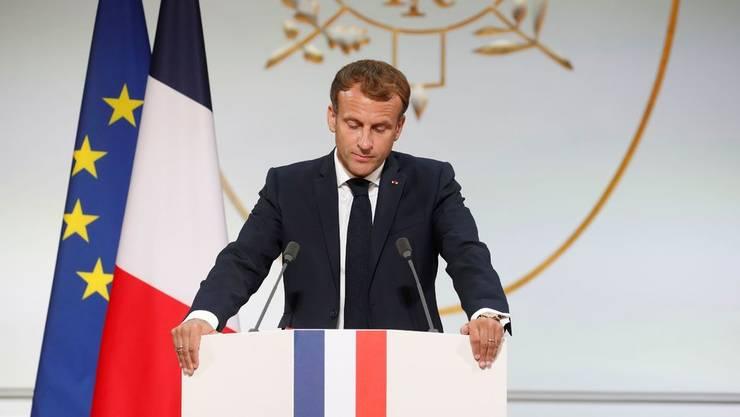 """Presedintele francez Emmanuel Macron va lansa """"comisia Bronner"""" la Palatul Elysée, în data de 29 septembrie 2021."""