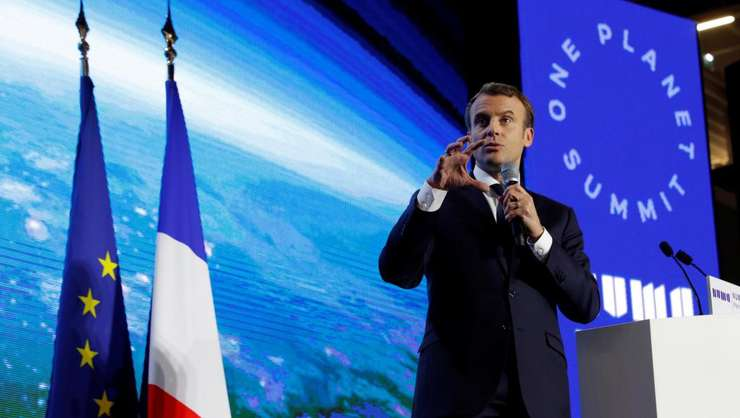 "Emmanuel Macron la un precedent ""One Planet Summit"""