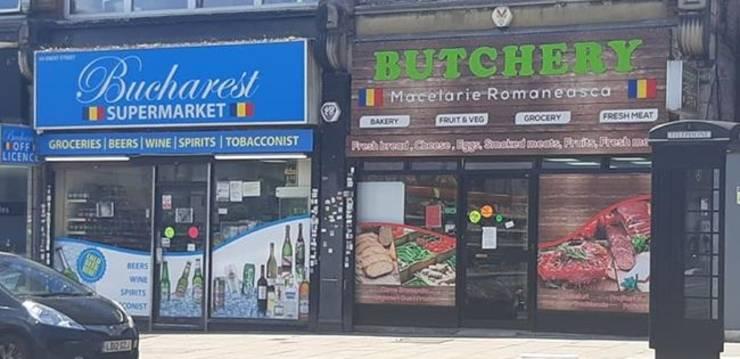 Magazine românești în nordul Londrei