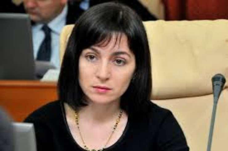 Maia Sandu, propusă pentru funcţia de premier al Republicii Moldova