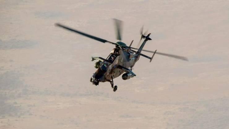 Elicopter Tigre al armatei franceze desfàsurat în Mali, februarie 2019