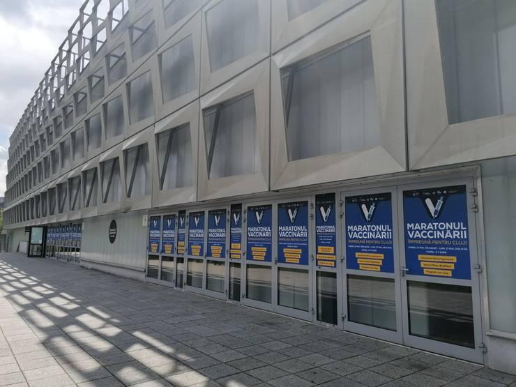Maratonul vaccinării de la Cluj va avea loc la Sala Polivalentă BT Arena