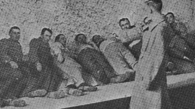 Reconstituirea masacrului de la Jilava din 26 - 27 noiembrie 1940