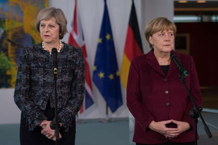 Angela Merkel și Theresa May