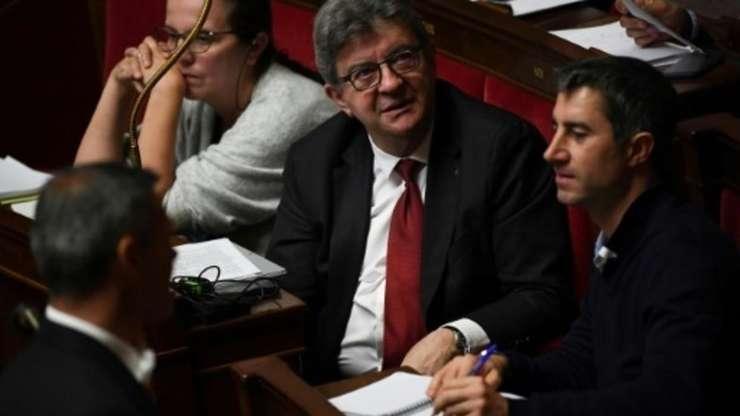 """Jean-Luc Mélenchon, liderul radicalilor de stînga, semnatar al tribunei din Libération împotriva """"islamofobiei""""."""
