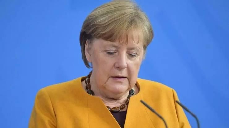 Cancelara germanà Angela Merkel, miercuri 24 martie 2021.