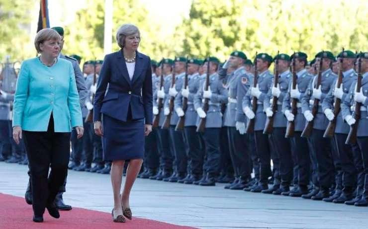 Angela Merkel și Theresa May