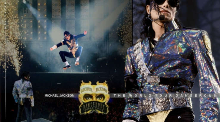 """Michael Jackson """"Dangerous Tour"""" 1992"""
