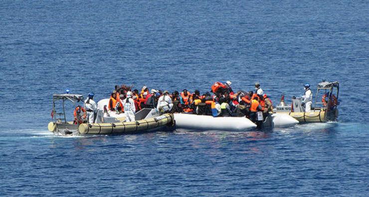 Operațiune italiană de salvare, din largul coastelor siciliene