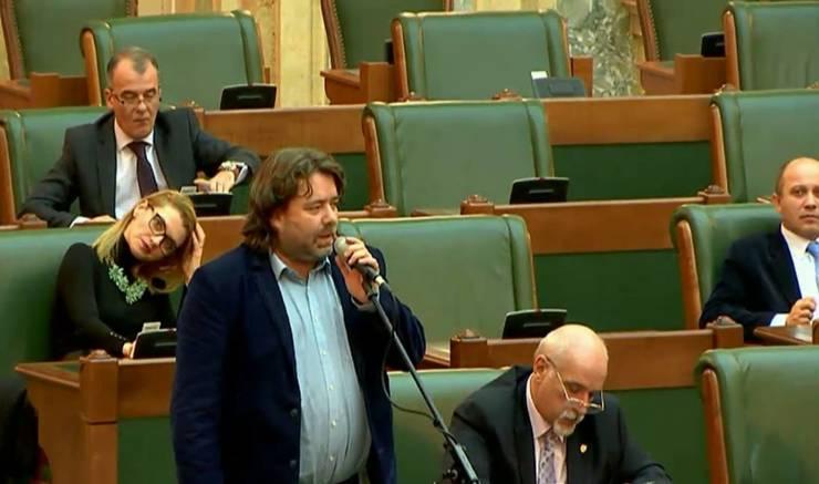Mihai Goțiu speră să înceteze execuțiile din USR (Sursa foto: Facebook/Mihai Goțiu)