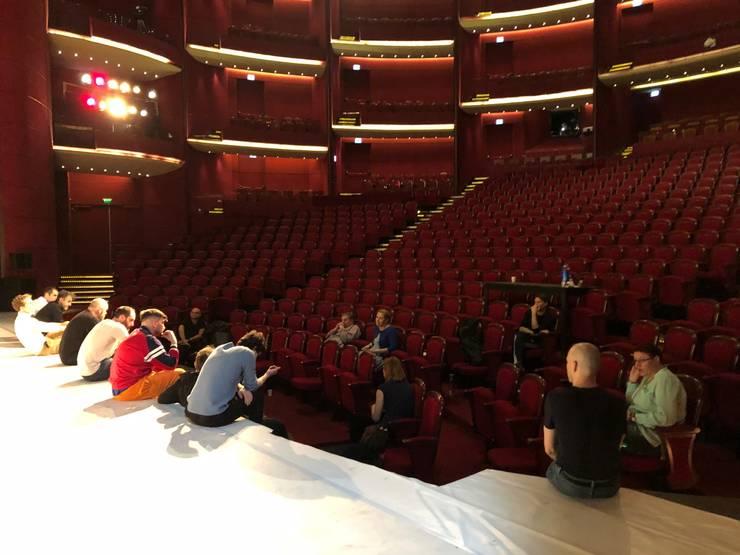 Când se vor redeschide teatrele? (Sursa foto: Facebook/TNB)