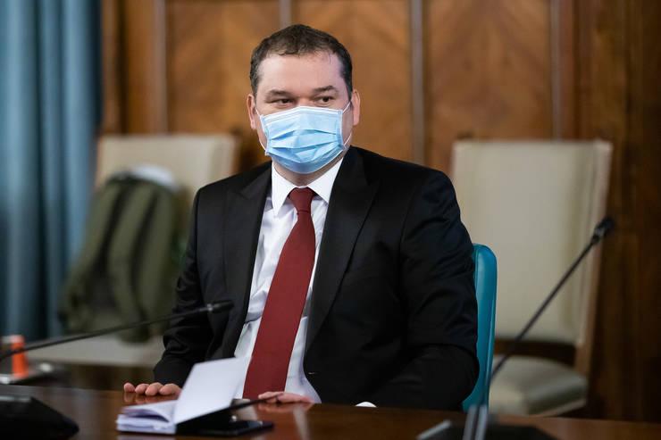 Cseke Attila, în ședință de Guvern (Sursa foto: gov.ro)