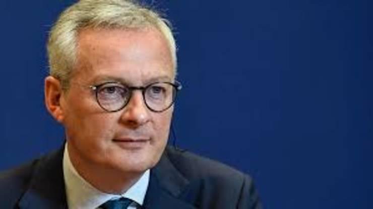 Ministrul francez al Economiei, Bruno Le Maire.