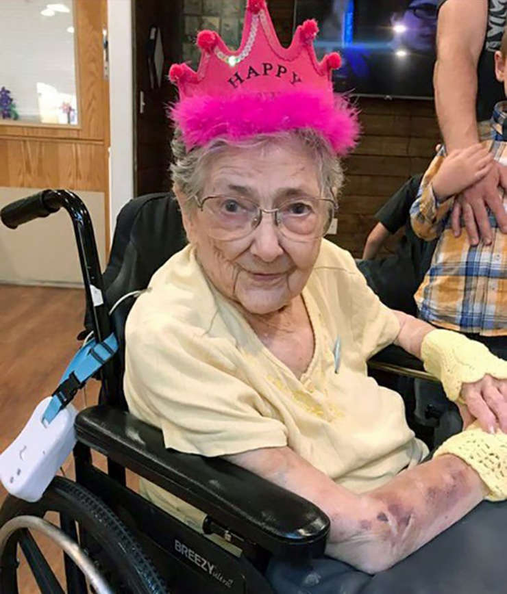 Rose Marie Bentley a trăit 99 de ani cu o afecțiune rară (Sursa foto: OHSU News/arhiva familiei Bentley)