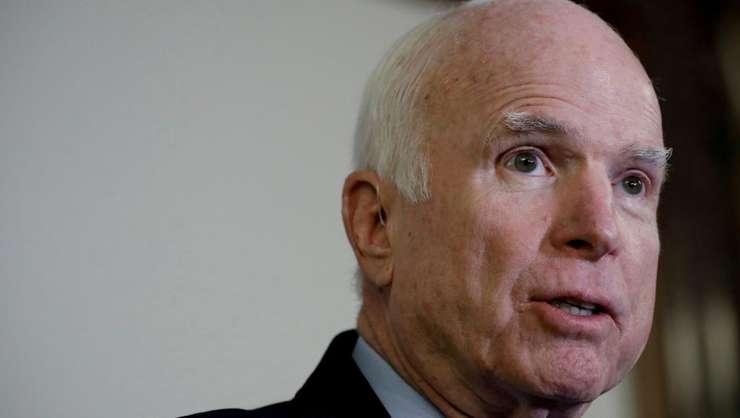 John McCain, aici pe 25 octombrie 2017, la Washington (Foto: Reuters/Aaron P. Bernstein)