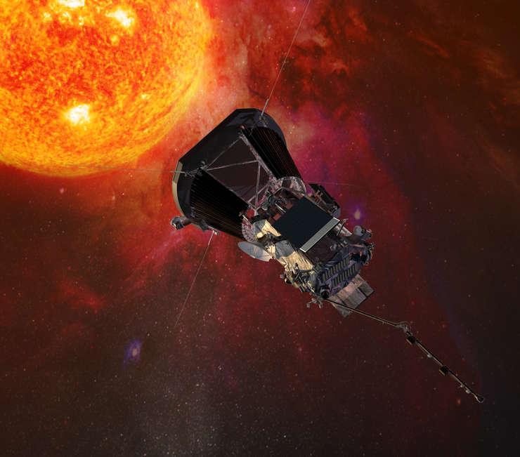 Sonda spaţială Parker va ajunge aproape de Soare în vara anului 2018 (Sursa foto: Johns Hopkins University Applied Physics Laboratory via site NASA)
