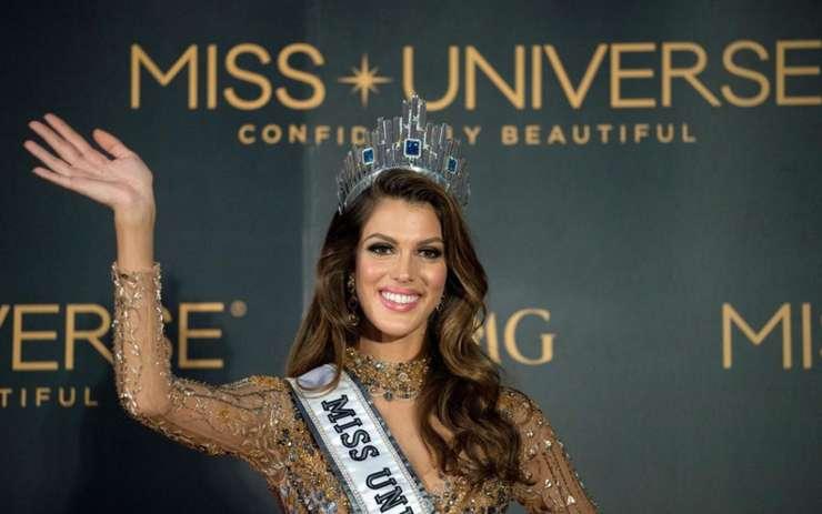 Frantuzoaica Iris Mittenaere este noua Miss Univers