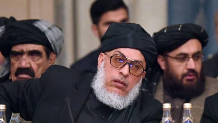 Mohammad Abbas Stanikzai, purtatorul de cuvânt al talibanilor, fotografiat la Moscova, 5 februarie 2019.