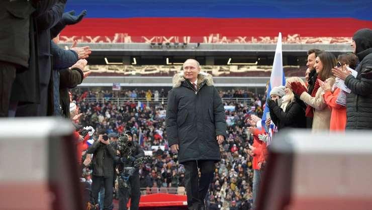 Preşedintele Vladimir Putin respinge implicarea Rusiei în otrăvirea fostului spion rus, Serghei Skripal (Foto: Sputnik/Alexei Druzhinin/Kremlin via REUTERS)