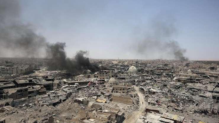 Mossul, Irak, eliberat din mâinile gruparii Stat Islamic, 9 iulie 2017