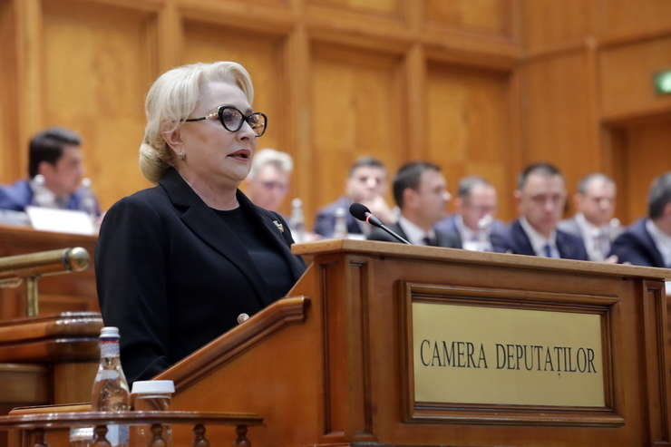 Cu 238 de voturi, motiunea de cenzura a fost adoptata. Guvernul Viorica Dancila a fost demis  (Sursa foto: gov.ro)