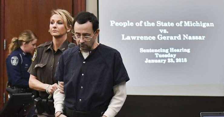 Nassar a pledat vinovat pentru agresiune sexuală