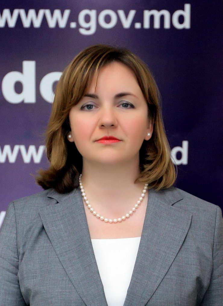 Premierul interimar al Republicii Moldova, Natalia Gherman (Foto: www.gov.md)