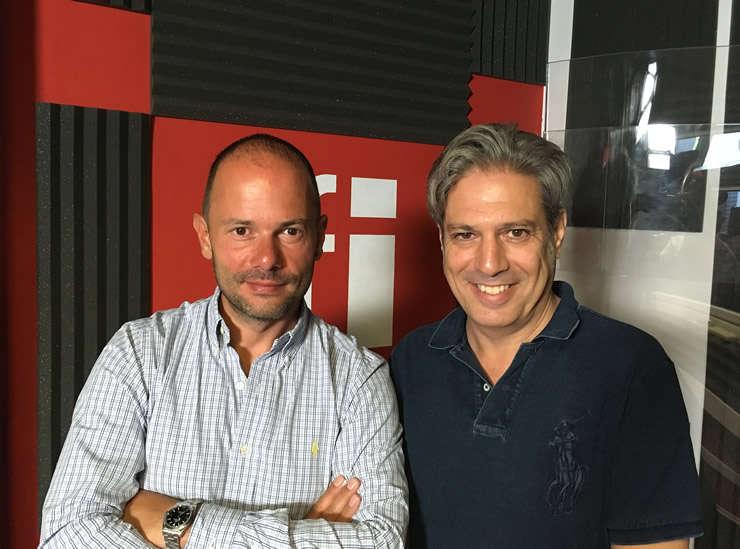 Cristian Preotu et Nicolas Don