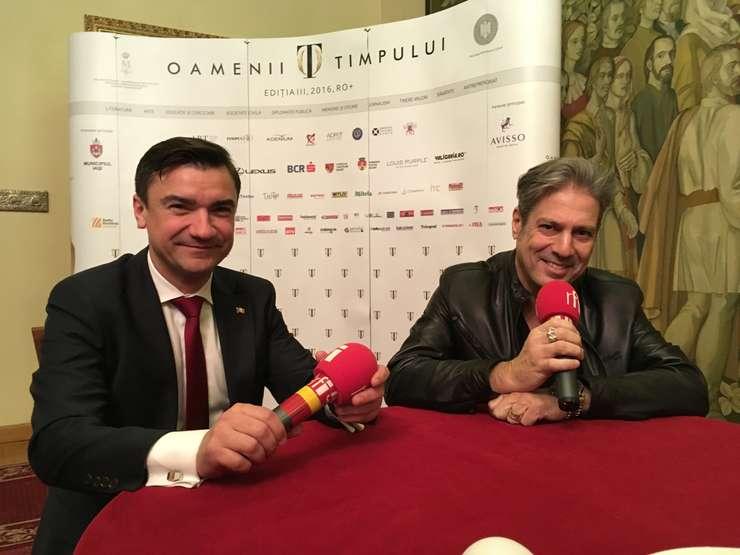 Mihai Chirică și Nicolas Don