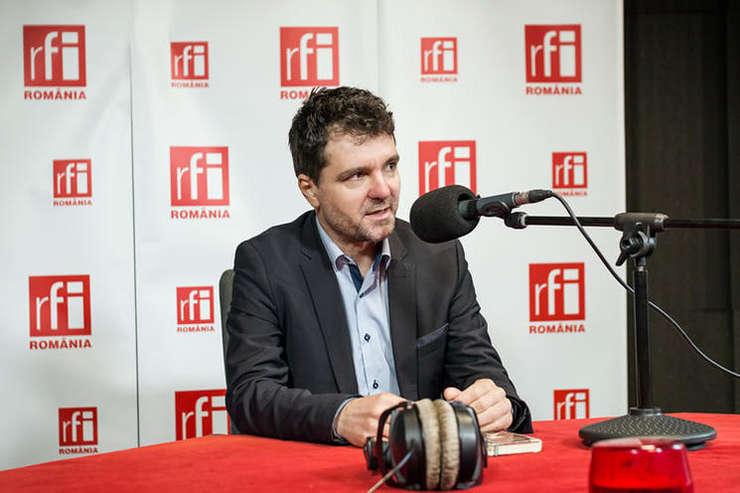 Nicuşor Dan, în studioul RFI România (arhivă)