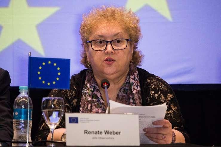 Renate Weber vrea să schimbe modul de comunicare al Avocatului Poporului (Sursa foto: Twitter/Renate Weber)