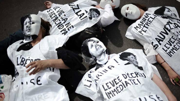 Numerosi membri ai Brigaziolor Rosii italiene si-au gasit refugiu în Franta.  O manifestatie împotriva extradarii unora dintre ei a avut loc în fata Consiliului de Stat din Paris, pe 17 iulie  2008.