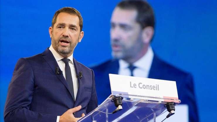 Numit la Interne, Christophe Castaner a anuntat ca va parasi sefia partidului prezidential, La République En Marche.