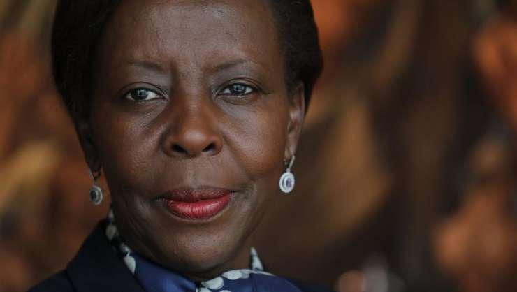 Louise Mushikiwabo, noua secretarà generalà OIF, fotografiatà la New York în septembrie 2018