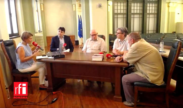 Mihaela Dedeoglu si invitatii sai la Oameni Sicase