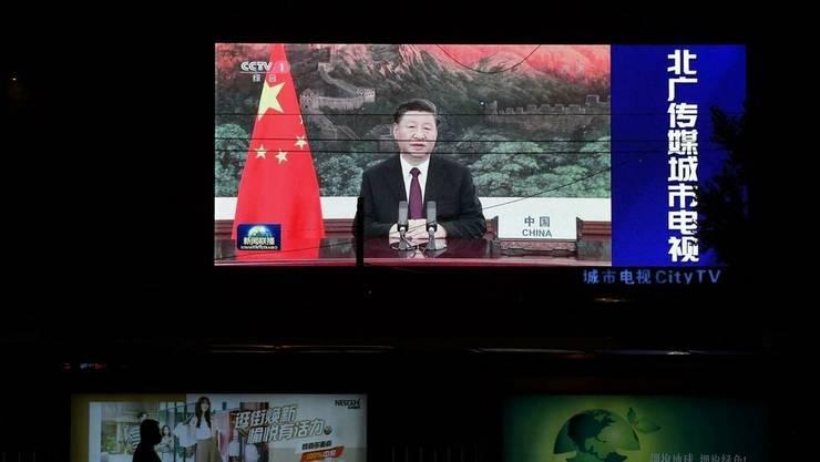 Discursul lui Xi Jinping în video la ONU, pe 22 septembrie 2020.