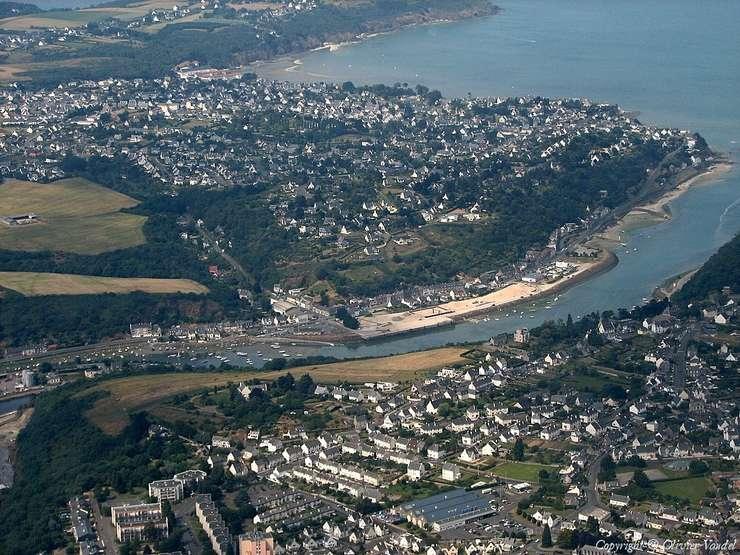 Orasul Saint Brieuc, Bretagne, Franta