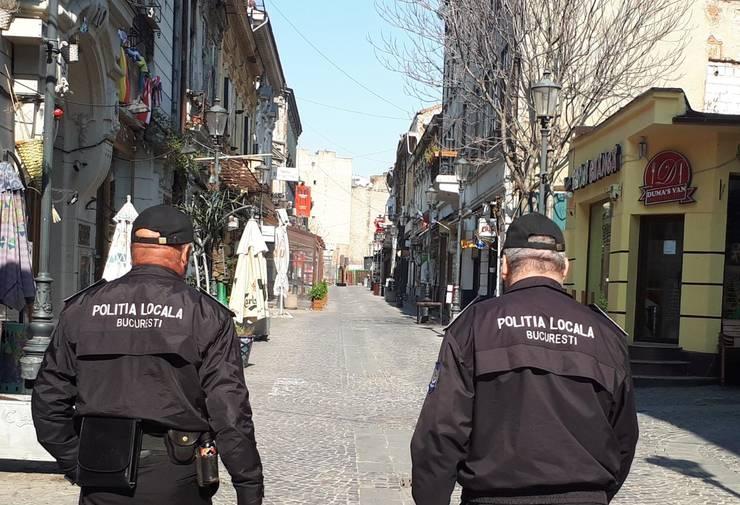 Ordonanțele militare sunt interpretate în fel și chip atât de populație, cât și de polițiști (Sursa foto: Facebook/Poliția Locală București)