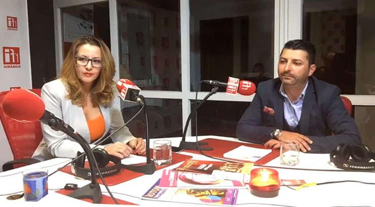 Otilia MIHAI si Antonio BABETI la radio