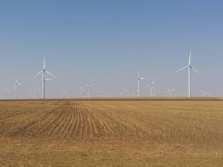 Turbinele eoliene, parte a soluției pentru o energie curată (Foto: RFI/Cosmin Ruscior)