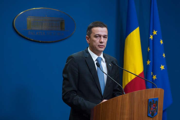 Premierul Sorin Grindeanu vrea consultări cu partidele (Sursa foto: www.gov.ro)