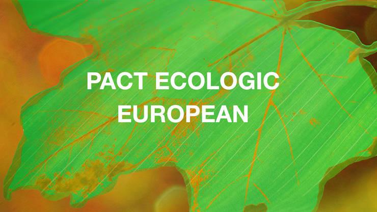 Pact ecologic european - Green Deal