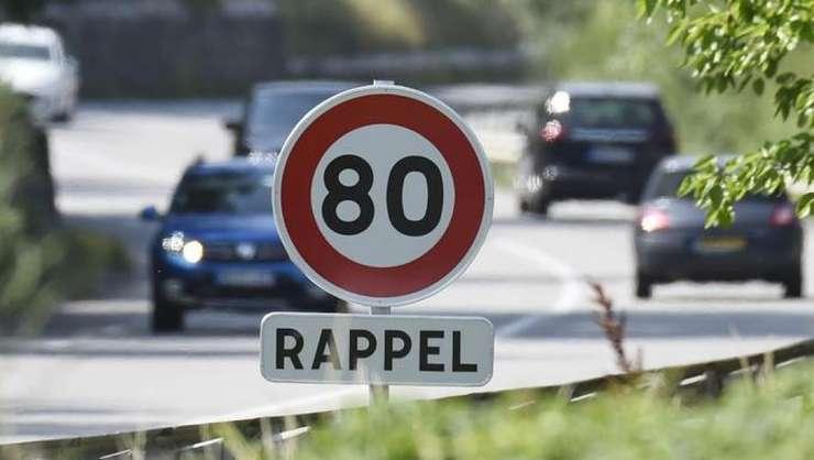 Franta va reduce de la 90 la 80km/orà viteza maximà pe drumurile secundare