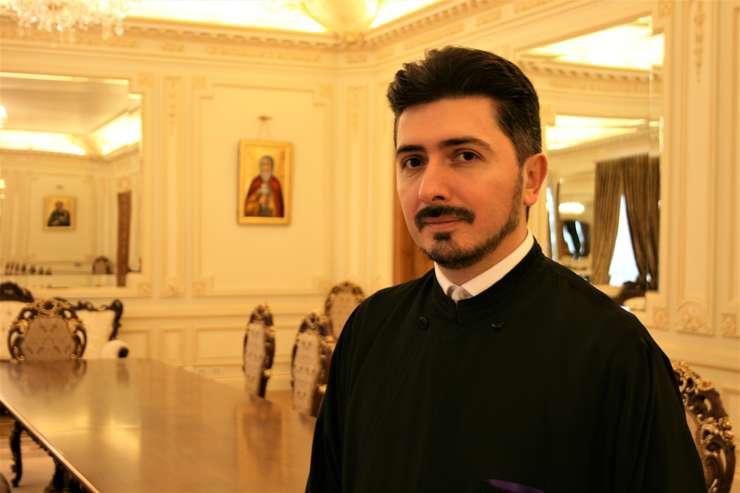 Părintele Liviu Nechita a coordonat proiectul prin care, pentru reabilitarea Palatului Patriarhiei, au fost accesate 67 de milioane de lei, bani de la UE
