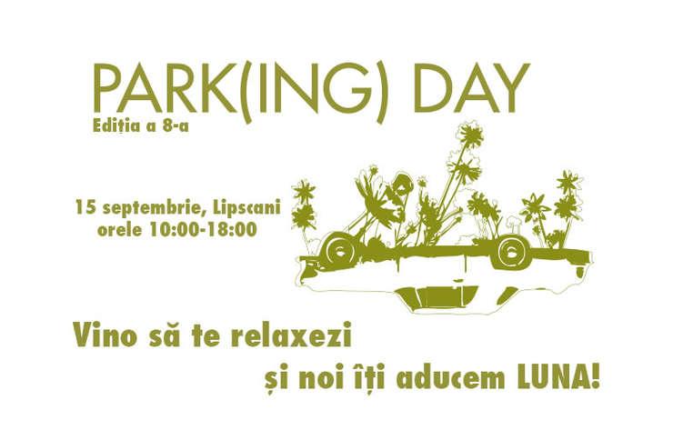 Park(ing) Day in Bucuresti
