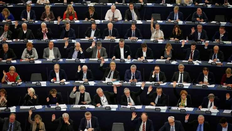 Sedinţă de lucru în Parlamentul european