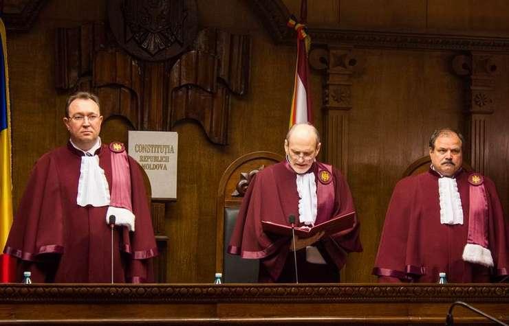 Judecători ai Curţii Constituţionale din Republica Moldova