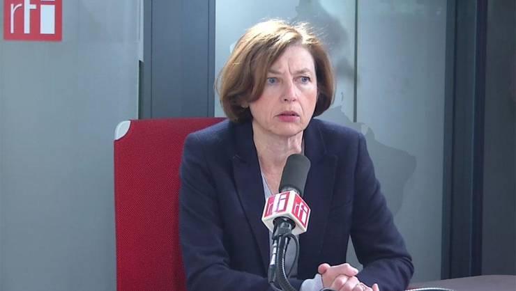 Florence Parly, ministrul francez al Apàràrii, este luni 27 ianuarie 2020 la Washington