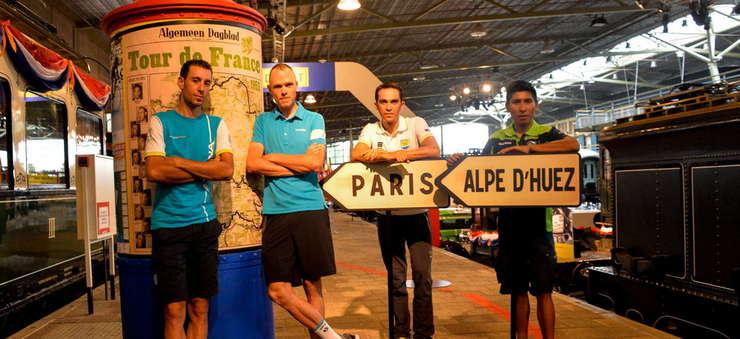 Nibali, Froome, Contador, Quintana