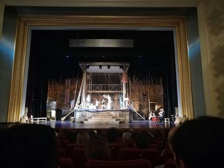 Piesa Furtuna pe scena Teatrului Arta Poporului, Beijing
